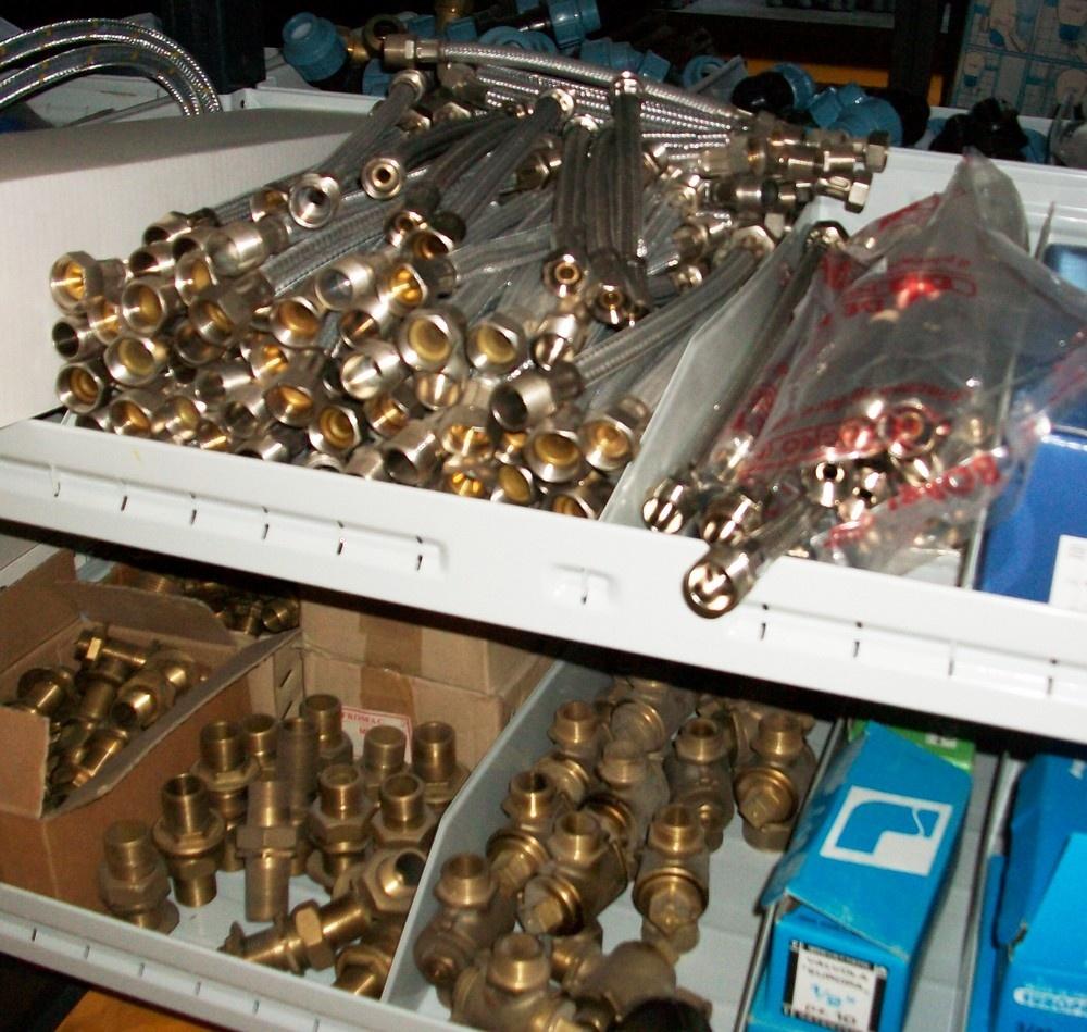 Accessori per idraulica.